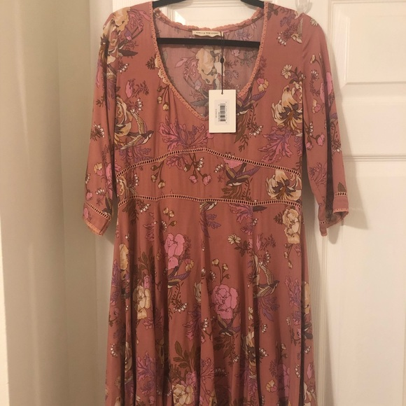 Spell & The Gypsy Collective Dresses & Skirts - NWT Blush Rosa 90's Dress